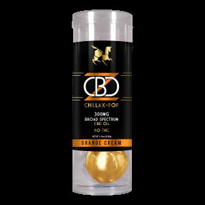 Broad Spectrum CBD Lollipop - Creamsicle