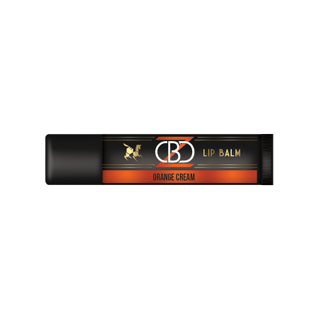 25mg CBD Lip Balm - Orange Cream